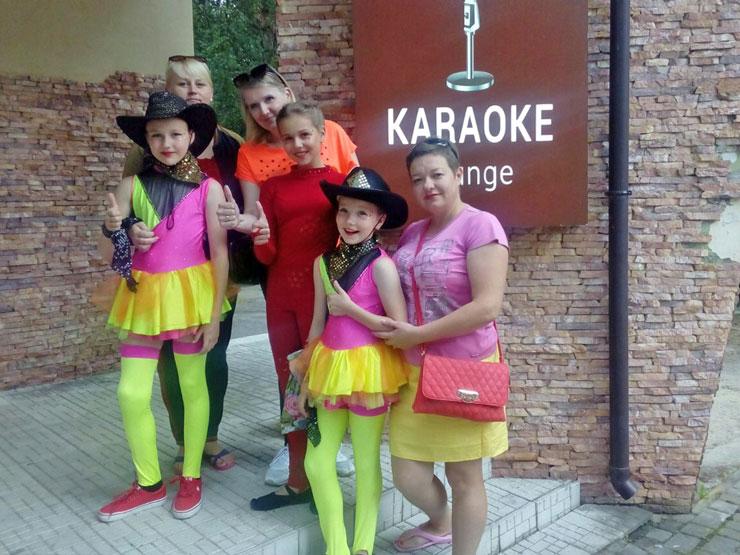Кобринские «Веснушки» взяли два первых места на международный фестивале в Украине